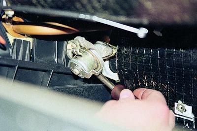 Ремонт радиатора отопителя